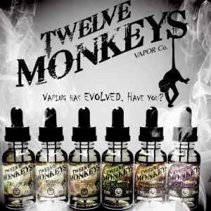 12 Monkeys flavored eliquid