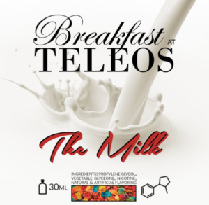 Telos, The Milk flavored eliquid