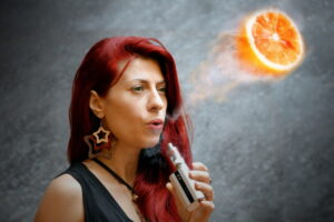 orange vape iStock_000069762683_Small